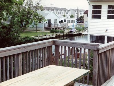 Vacation Homes in Ocean City house rental - Back Deck