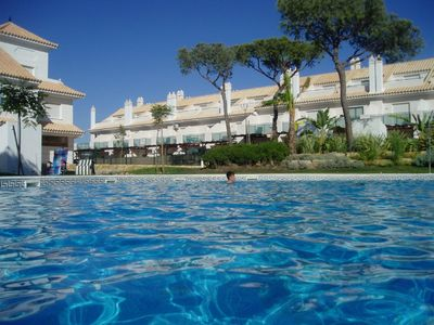 Luxury accommodation, with pool , El Portil, Spain