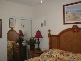 Madeira Beach condo rental - Typical Master Bdrm, bedding differs in each unit.