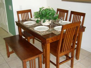 Windsor Palms house photo - Dining room seating for 6