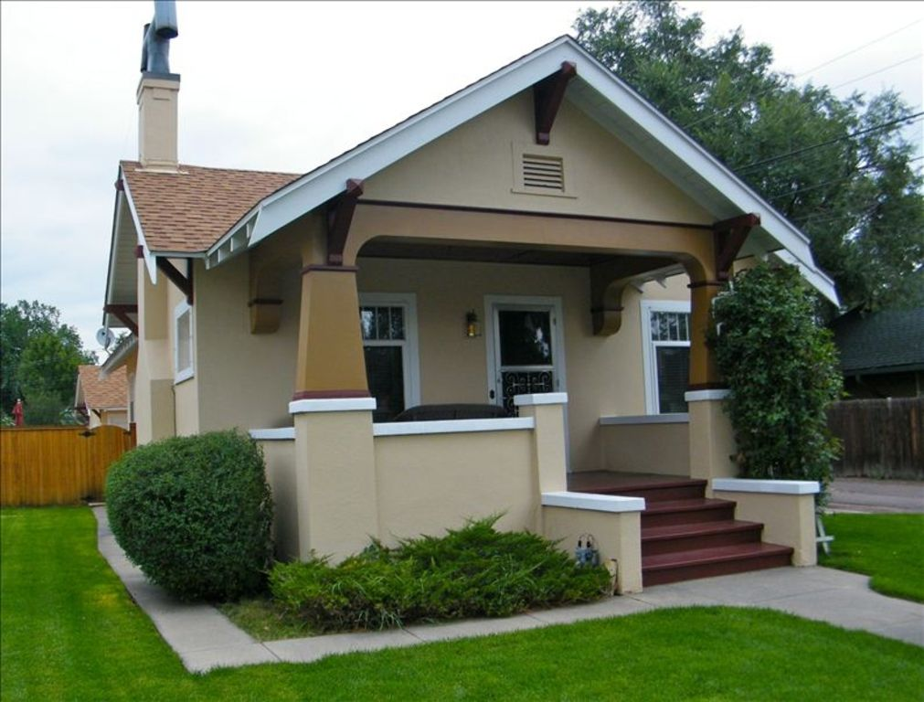 hist 4 bd bungalow centrally located old north end near cc afa olympic train ctr vacation rental pics american craftsman style