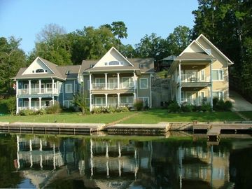 Hot Springs house rental - Waterfront view of Chesapeake Cove on Lake Hamilton