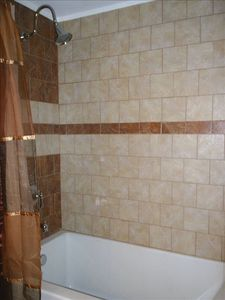Shower and soaking tub