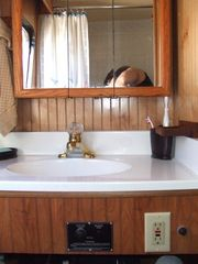 Islamorada house boat photo - This boat has two full bathrooms or heads.