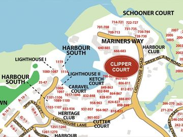 Clipper Court Villas are right at the Harbour and Liberty Oak in Harbour Town.