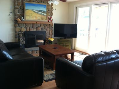 Living room with WiFi Internet and SmartTV Room - Old Saybrook house vacation rental photo