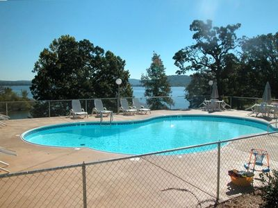 New Pool Overlooking Table Rock Lake