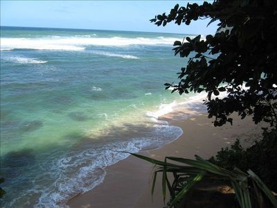 Voted #1 - 'Hide-Aways Beach,' on the North Shore of Kauai. It's surely Unique!