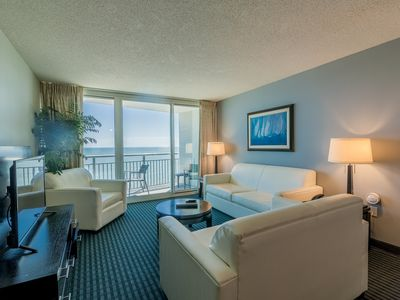 Last Minute Rate, Direct Oceanfront 3BR/3BA, Sleep 10, Central Location