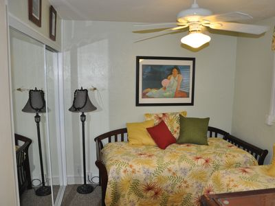Remodeled Second Bedroom can be made into Single Beds
