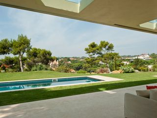 View from the living room sofa - Estoril villa vacation rental photo