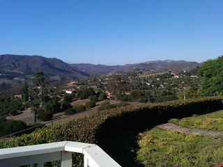 Fallbrook house photo - View from family room entertaining deck. Watch the sun dance across the land.
