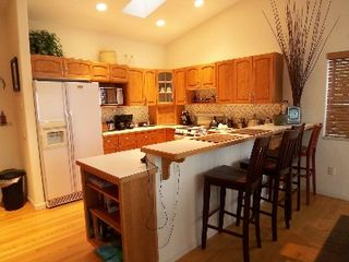 Shelton house photo - Fully equipped kitchen includes espresso machine, blender, waffle maker.
