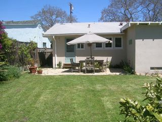 Santa Barbara bungalow photo - And a big back yard for kids and adults alike to play play play!