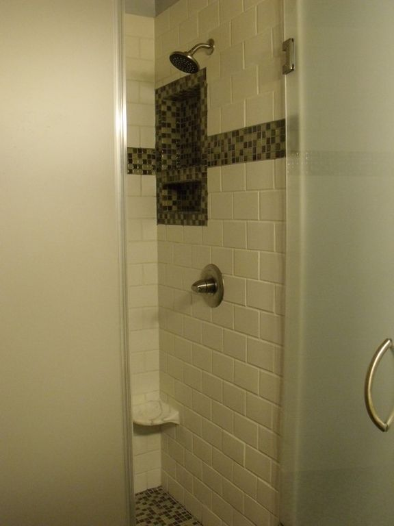 Upstairs Custom Shower