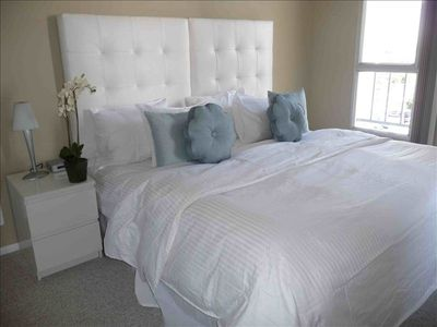 Guest Bedroom -beds can be changed to 2 twin beds