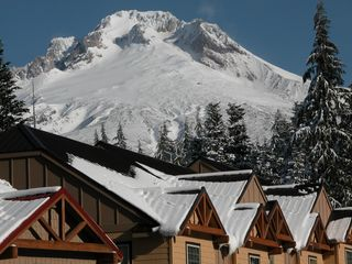Mt. Hood overlooking the Chalets - Government Camp chalet vacation rental photo