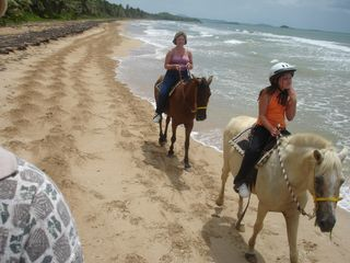 Humacao condo photo - Horse Back Riding on the Beach, Awesome!