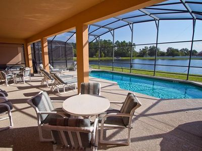 Seasons villa rental - Lakeside Pool, Large deck