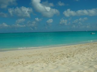 Providenciales - Provo studio photo - beach view of the worlds best rated beach water and sand