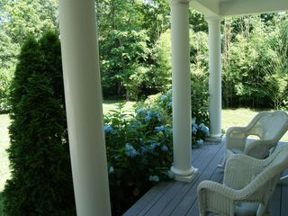 Brewster house photo - Front Porch. Just relaxing!