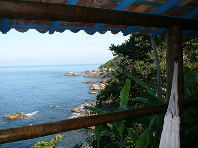 Houses on the coast for two-four people. Spectacular sea view!