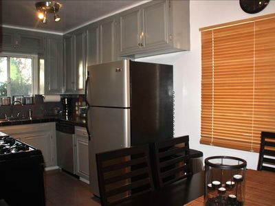 =Fully Stocked Kitchen/Dining Area