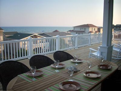 Have dinner or coffee while taking in these AMAZING OCEAN & BEACH Views!