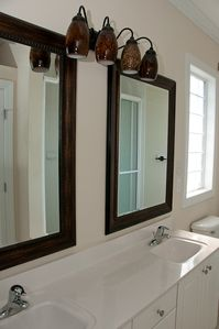 Master Bath with two sinks