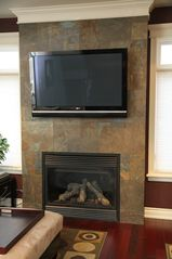 Niagara Falls house photo - Living Area Television and Fire Place