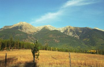 The Swan Mountain Range