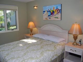 Rehoboth Beach house photo - bedroom with Queen bed and TV