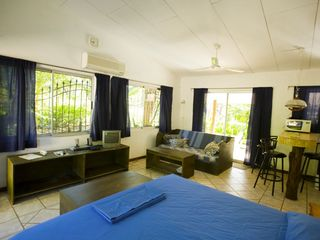 Tamarindo studio photo - The 'Blue' cabina has a sofa bed for a 3rd guest.