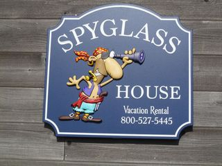 Bandon house photo - Look for the friendly Spyglass pirate!