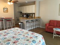 Renovated, Clean, Cozy Studio With Queen Bed, Queen Sleeper Sofa, Smart TV