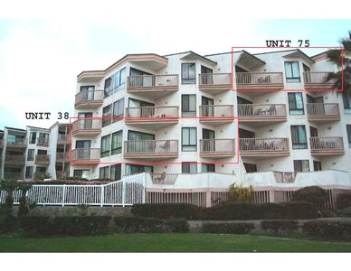 Pacific Beach condo rental - THIS UNIT #38 BLOCKED IN RED,UNIT #75 HOMEAWAY #248312, UNIT #76 #932633