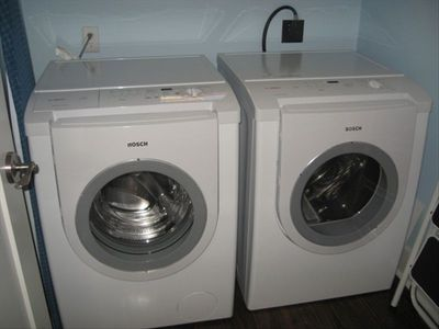 Full-size washer/dryer