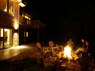 Lutsen lodge photo - Evening bonfires - bring your marshmellows!
