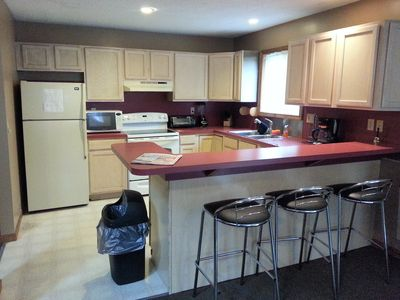 Albrightsville chalet rental - view of kitchen