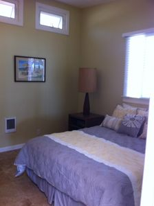 Newly remodeled - this bedroom features its own bathroom.