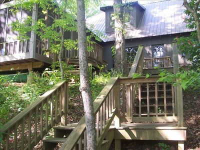 Greers Ferry Lake cabin rental - RIVER VIEW OF CABIN