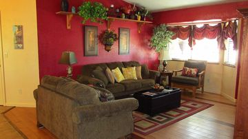 Prescott Valley house rental - The comfortable living room, designed with relaxation in mind!