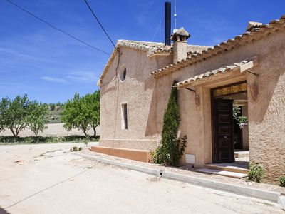 Cuenca cottage with fireplace, barbecue Whirlpool