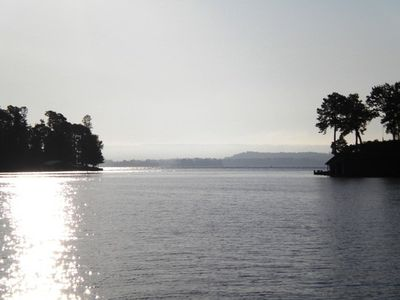 The view at Waterfront Bay boat launch.   Plan a great day on Lake Guntersville!