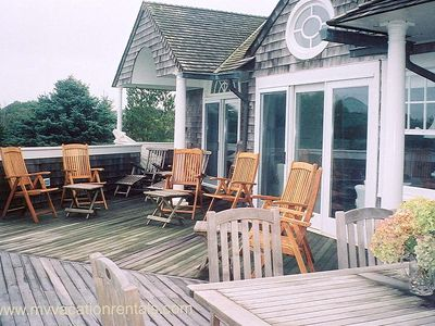 Edgartown house rental - Deck