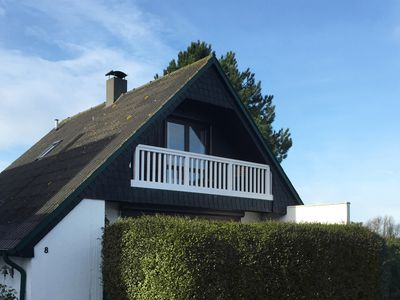 Renovated House in Süssau overlooking the Baltic Sea, balcony, garden, fireplace