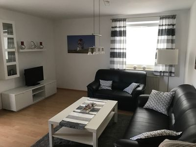 modern apartment in a central location, the ground floor apartment in the Wattenkieker