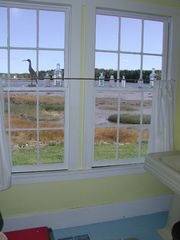 Machiasport cottage photo - Even the bathroom boasts a wonderful water view!