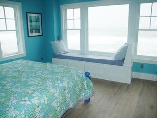 Moody Beach house photo - First Master has a window seat to look at the sea and sky.