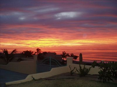 Sunrise on the Sea of Cortez from the Front Yard